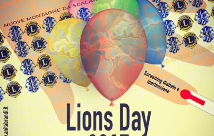 La locandina del Lions Day 2017